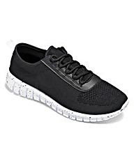 Be Active Knitted Trainers EEE Fit