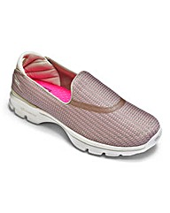 Skechers Go Walk 3 Trainers Wide Fit
