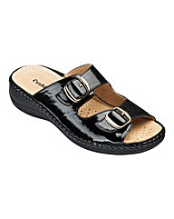 Cushion Walk Mule Sandals E Fit
