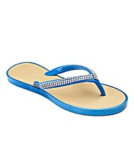 Cushion Walk Flip Flops E Fit
