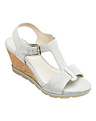 Lotus Suede Sandals D Fit