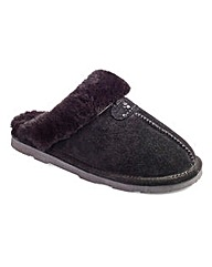 Bearpaw Suede Mule Slippers D Fit