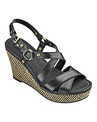 Naturalizer Wedge Sandals D Fit