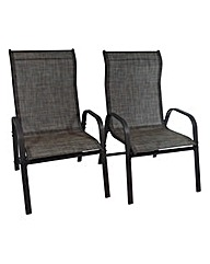Vienna XL Pair of Chairs