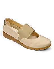 The Flexx Elasticated Bar Shoes D Fit
