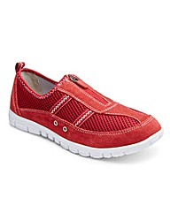 Foot Therapy Zip Fastening Shoes EEE Fit
