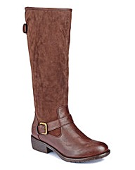 Natures Own High Leg Boots EEE Fit Curvy