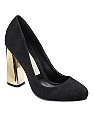 Lorraine Kelly Block Heel Shoes D Fit