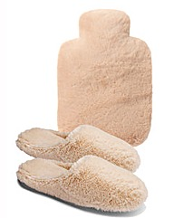 Sole Diva Slippers & Water Bottle Cover