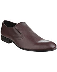Base London Capital Leather Slip on