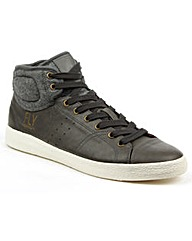 Fly London Lace Up High Top Trainer