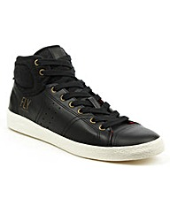 Fly London Black Lace High Top Trainer