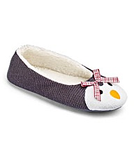 Pretty Secrets Penguin Slippers E Fit