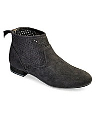 Sole Diva Back Zip Boots EEE Fit