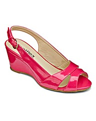 Footflex by Lotus Slingback Sandals EEE
