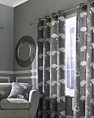 Tiffany Blackout Lined Eyelet Curtains