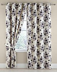 Camillla Printed Floral Eyelet Curtains