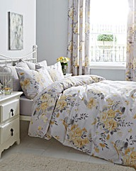 Birdcage Blossom Duvet Cover Set