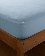Value Plain Dye Flannelette Fitted Sheet