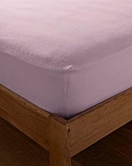 Value Plain Dye Flannelette Fitted Sheet
