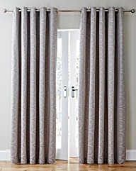Estow Jacquard Lined Eyelet Curtains
