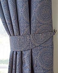 Estow Textured Jacquard Tiebacks
