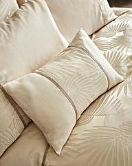 Lyra Jacquard Filled Boudior Cushion
