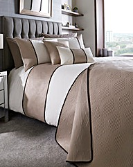 Braxton Geometric Duvet Cover Set
