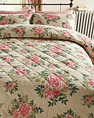 Martha Quilted Throwover