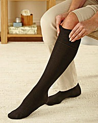Extra Long Soft Grip Socks Two Pairs