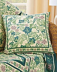 Cotton Ivy Leaf Cushion Covers BOGOF