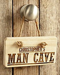 Man Cave Sign Personalised