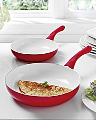 Deeper Frying Pan Set 2 Piece
