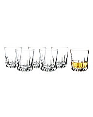 Royal Doulton Crystal Tumblers Set 6