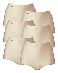 Triumph Sloggi 6Pk Basic Maxi Briefs
