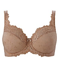 Full Cup Wired Natural Ruby Bra