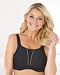 Hi Impact Wired Sports Bra Black