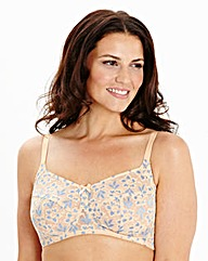 2 Pack Full Cup Non-Wired Pink Blue Bras
