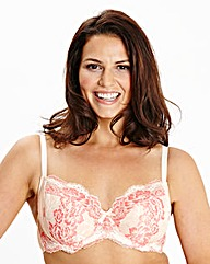 Full Cup Wired Vintage Pink Bra