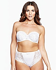 Multiway Wired White Ella Bra