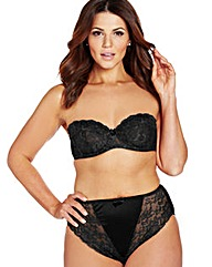 Ella Multiway Wired Black Bra