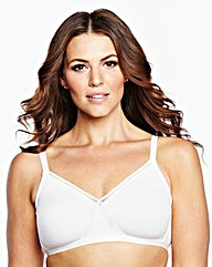 2 Pack Full Cup Non Wired Ivory Bras