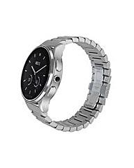 Luna-Brushed SteelSteel Bracelet