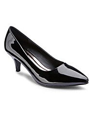 The Shoe Tailor Basic Court Shoes E Fit