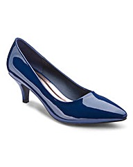 The Shoe Tailor Basic Court Shoes D Fit