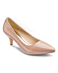 The Shoe Tailor Basic Court Shoes EEE