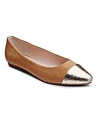 Sole Diva Toe Cap Shoes EEE Fit