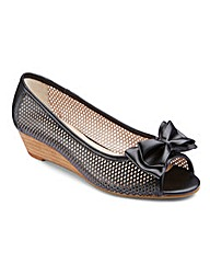 Lotus Peep Toe Shoes EEE Fit