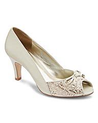 Lotus Peep Toe Shoes EEE Fit