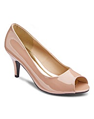 The Shoe Tailor Peep Toe Shoes D Fit